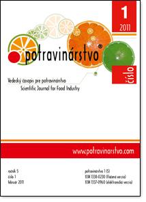 Potravinárstvo 1/2011